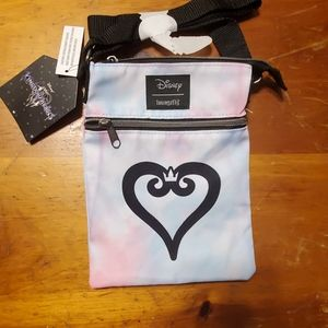 Loungefly kingdom hearts passport bag